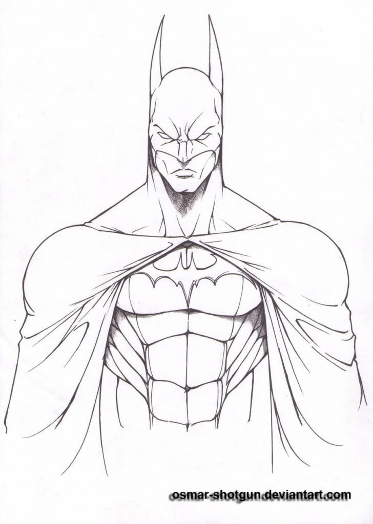 728x1024 Batman Easy Sketches 1000 Ideas About Batman Drawing