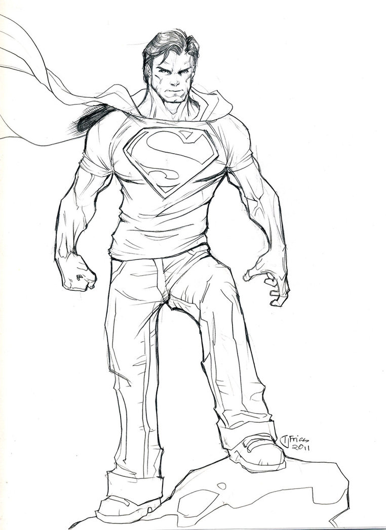 762x1048 Superman By Guinnessyde