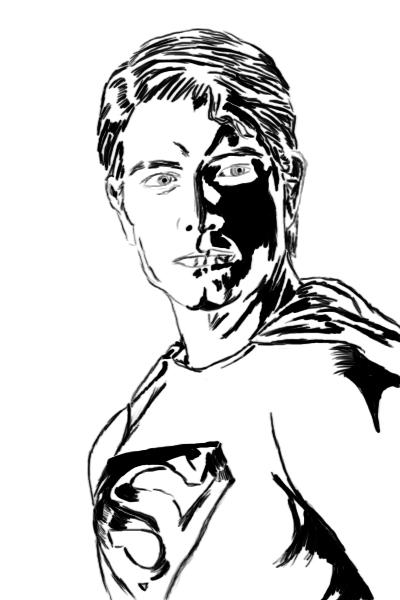 400x600 Superman Brandon Routh By Kimba2488