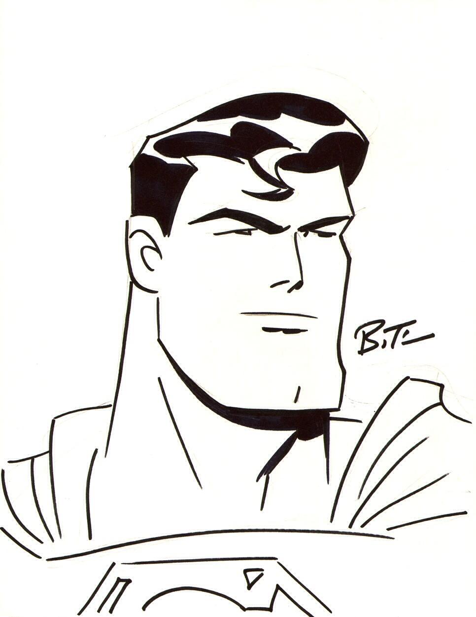 966x1250 Bruce Timm Drawing Bruce Timm, Dc Comics Art And Comic