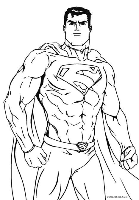 467x670 Free Printable Superman Coloring Pages For Kids Cool2bKids