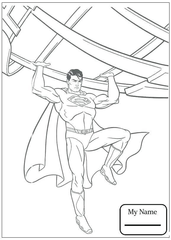 578x810 Coloring Pages Superman Index Coloring Pages Superman Logo