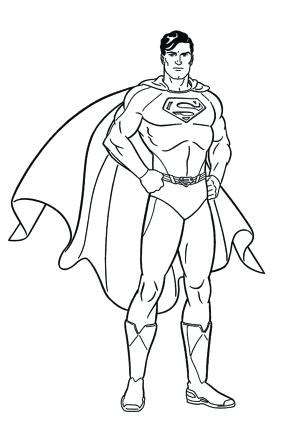 photo regarding Printable Superman Pictures named Superman Brand Drawing at  No cost for person