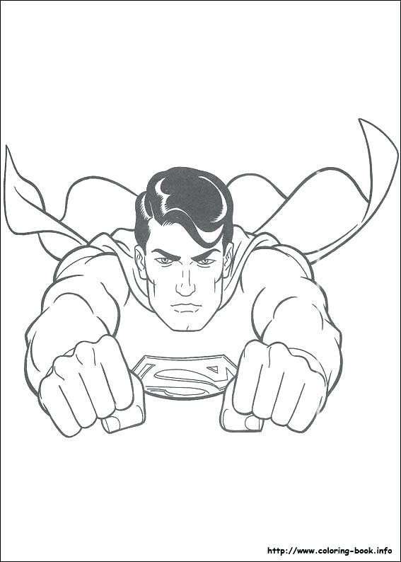 567x794 Printable Superman Coloring Pages Superman Logo Coloring Pages