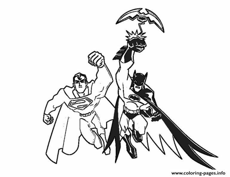 770x595 Print Batman And Superman S For Print02de Coloring Pages