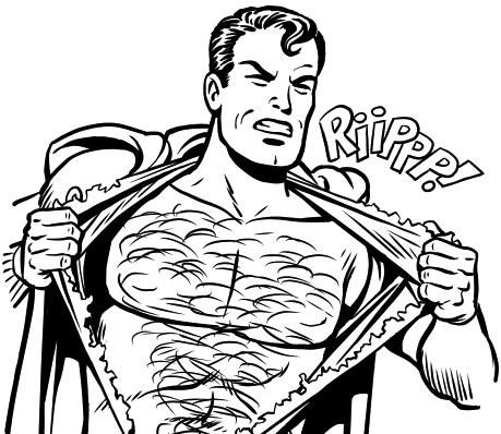 459x398 Tee Shirt Blog This Is A Job Failed Superman Cottonable