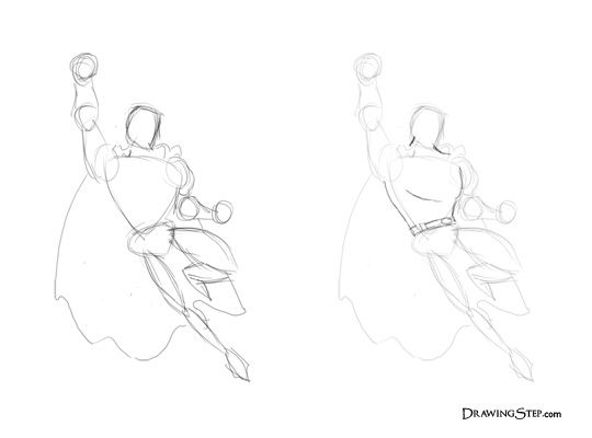 540x400 Best How To Draw Superman Ideas On Superman