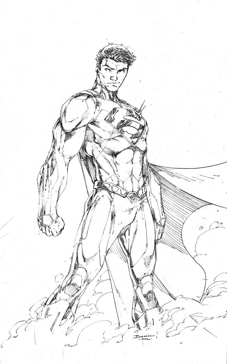 742x1189 Demonpuppy's Wicked Awesome Art Blog Superman And Powergirl