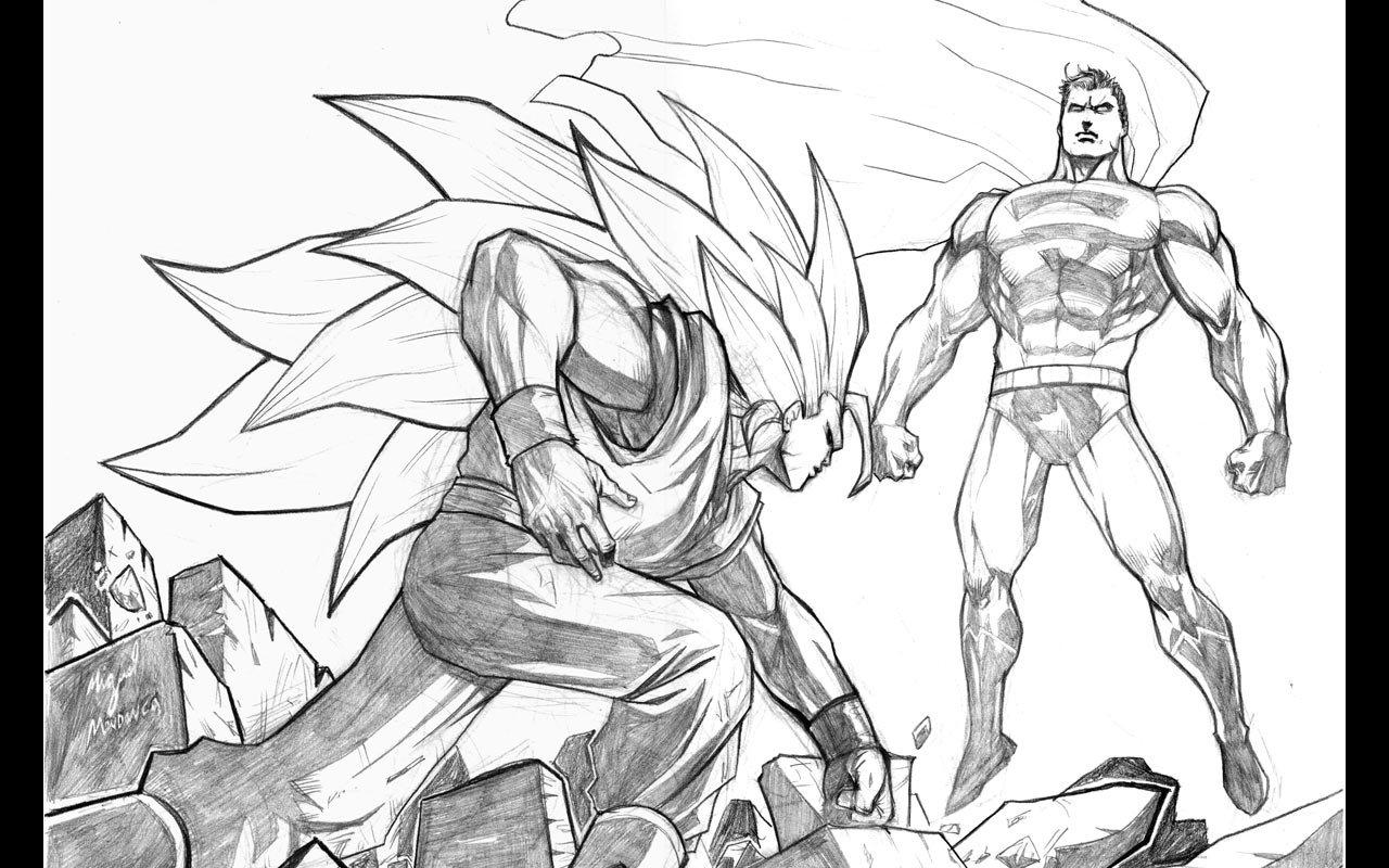 Superman Simple Drawing