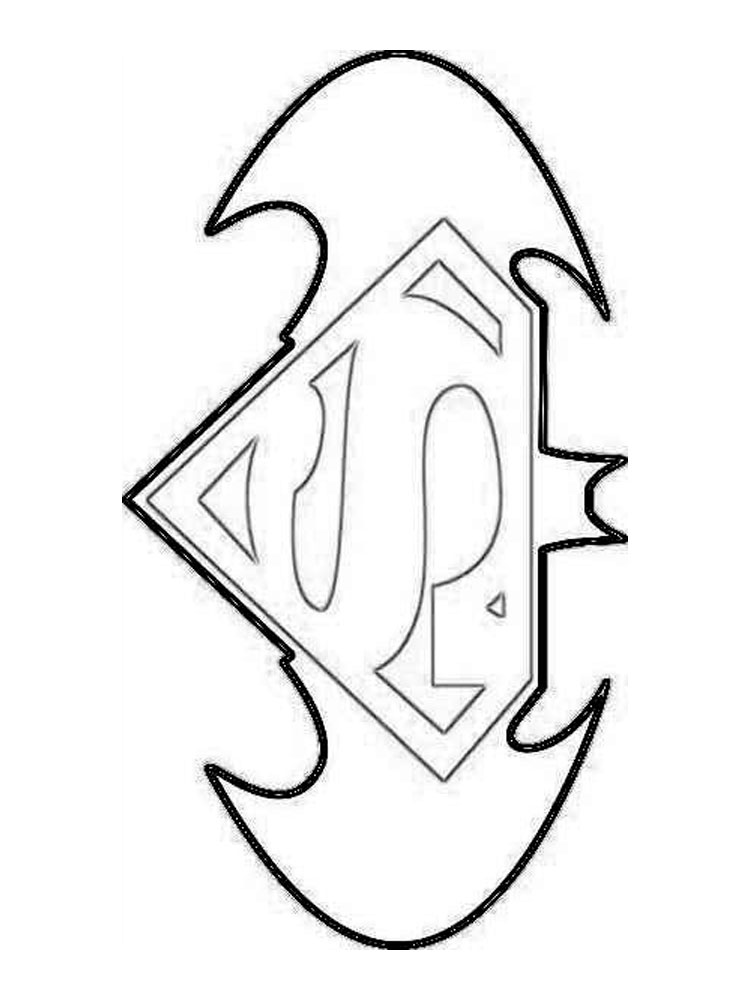 superman symbol coloring pages | Superman Symbol Drawing at GetDrawings.com | Free for ...