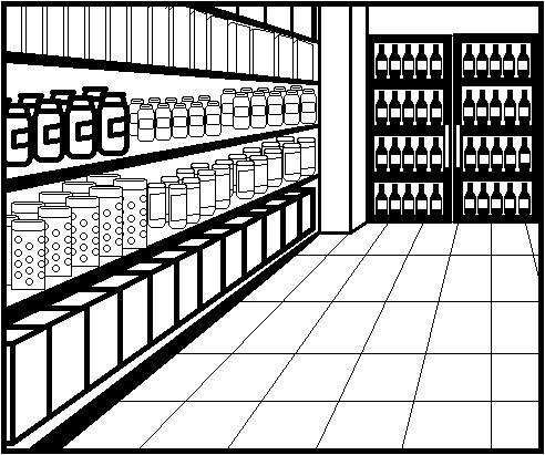 492x411 Bland Supermarket Aisle By Elementof Loyalty