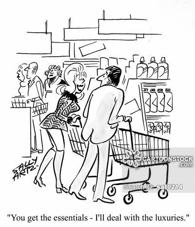 400x465 Supermarket Shops Cartoons And Comics