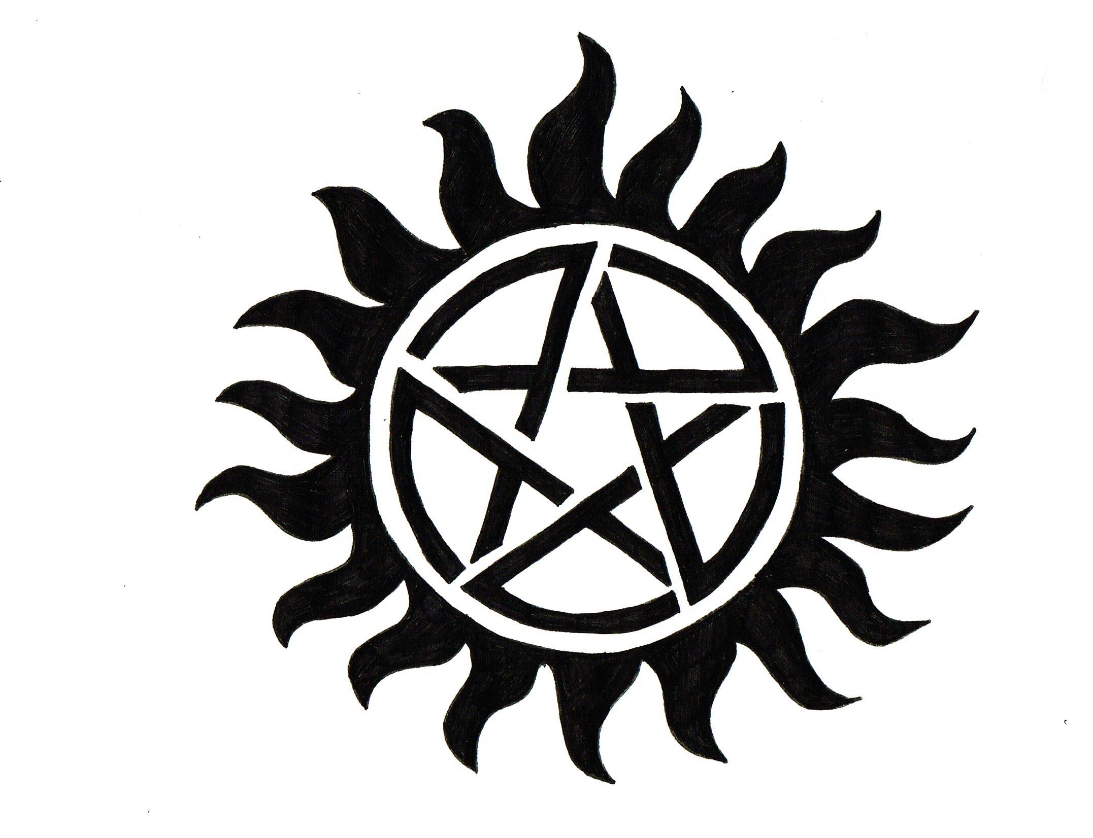 2153x1652 Supernatural Emblem