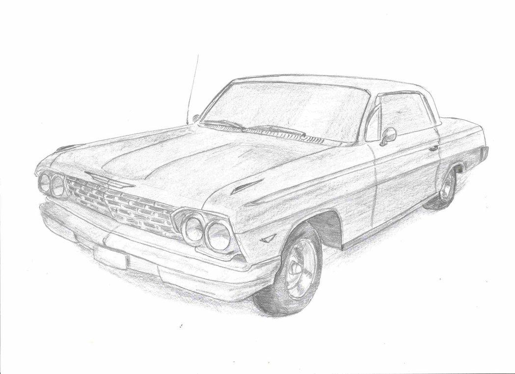 1049x762 1962 Chevrolet Impala Hardtop By Pizdexxx