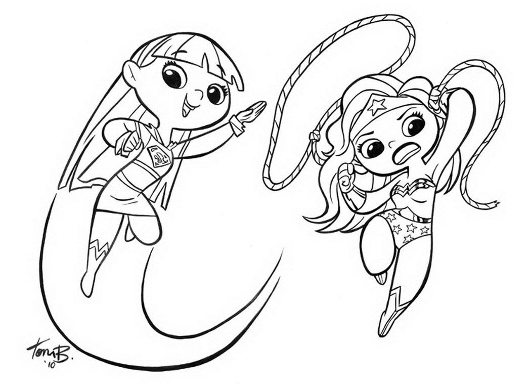 1048x767 Supergirl Coloring Pages Superwoman Coloring Pages Now Batgirl