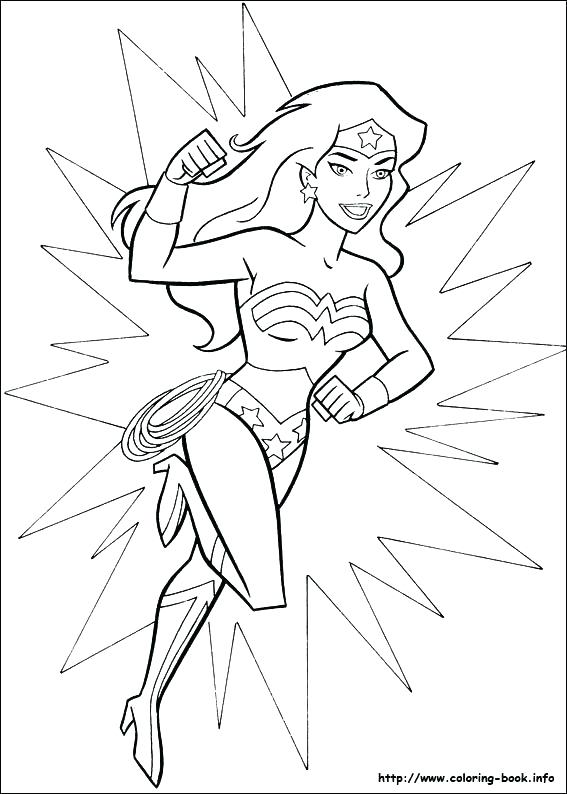 567x794 Unique Supergirl Coloring Pages Or Superwoman Coloring Pages