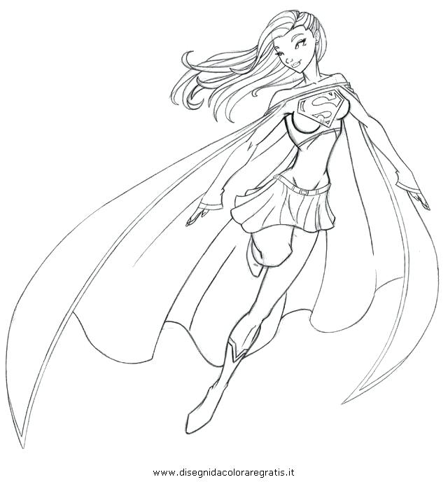 640x691 Best Of Superwoman Coloring Pages Pictures