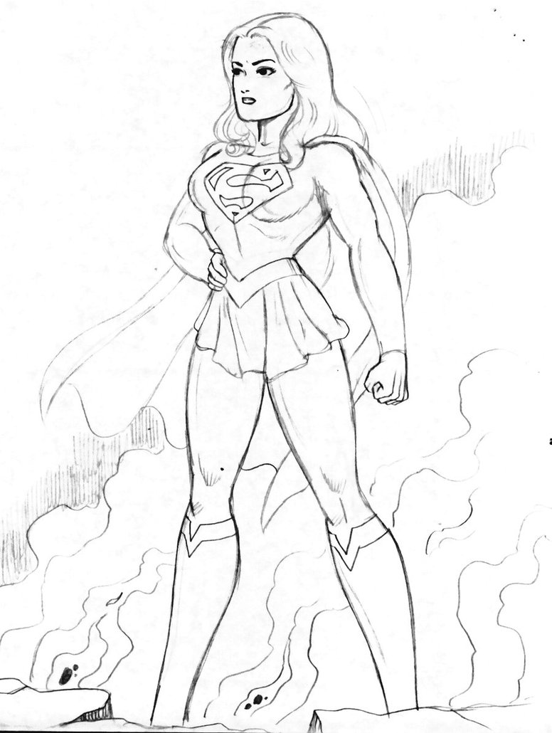 776x1030 Supergirl Movie 1 By Rogelioroman
