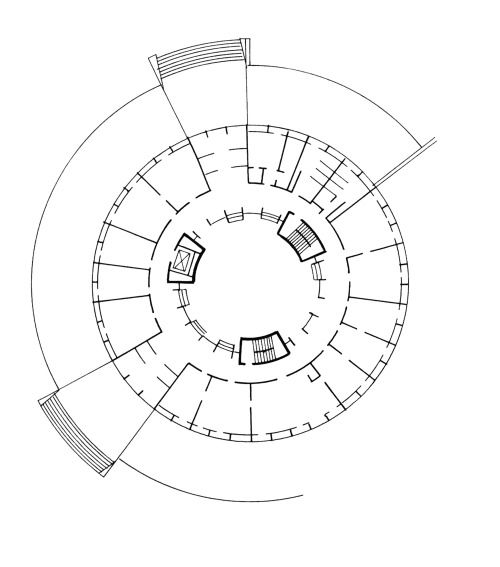 500x567 83 Best Circular Plans Images On Architectural
