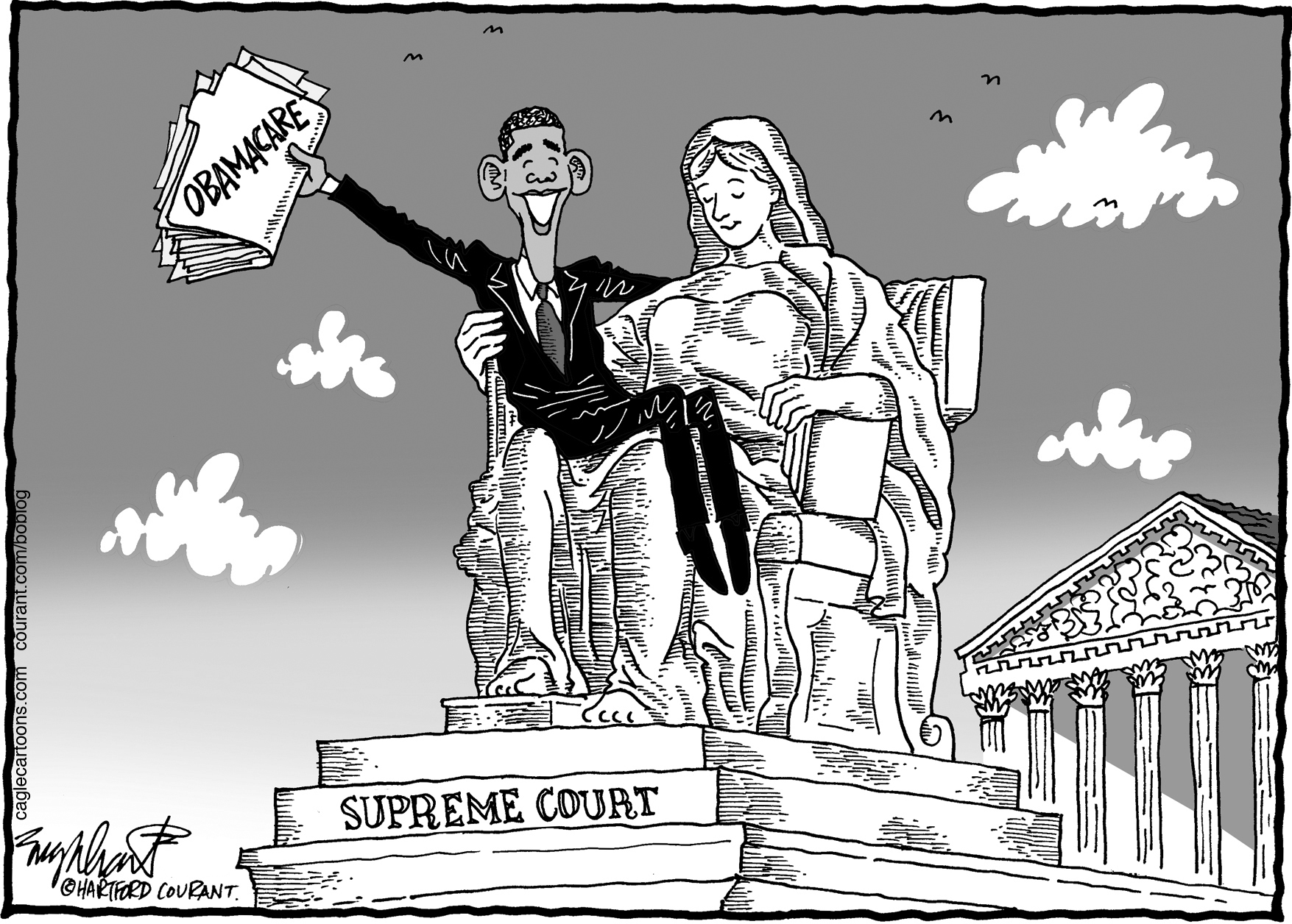 1755x1256 Englehart Cartoon Supreme Court's Health Care Decision