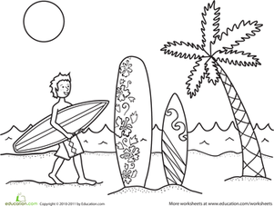 Surfboard Drawing Template at GetDrawings.com | Free for personal ...