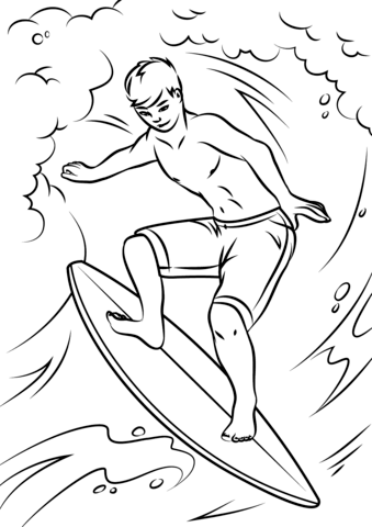 The Best Free Surfer Drawing Images Download From 50 Free Drawings