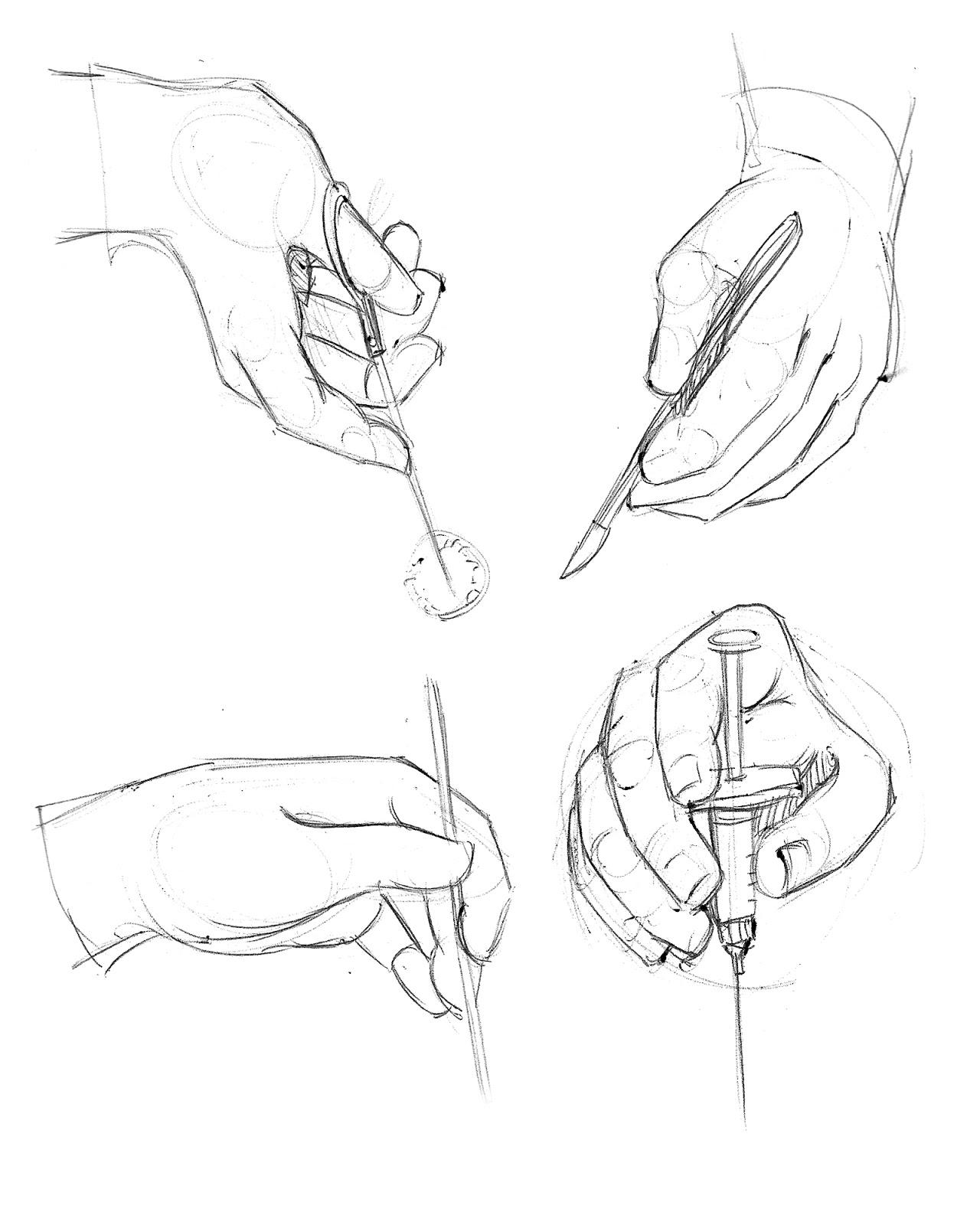 1280x1600 Chelsea Castillo's Sketch Blog Hands In Motion