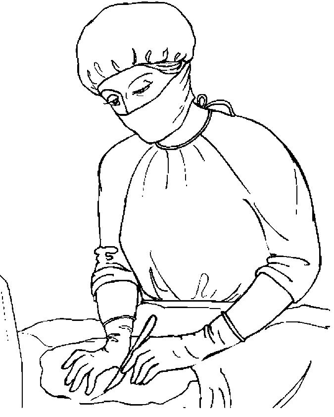 Surgeon coloring pages - Hellokids.com | 842x675