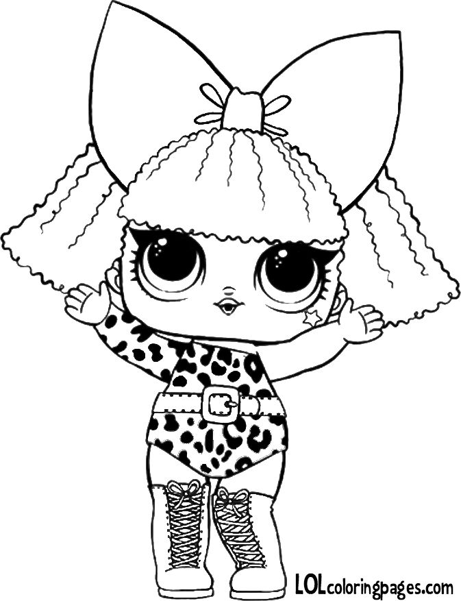673x877 Lol Surprise Dolls Coloring Pages That Are Blank Lol Surprise