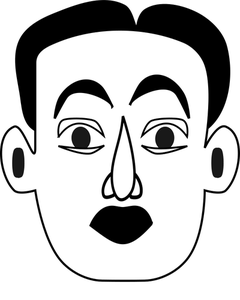 Surprised Face Drawing