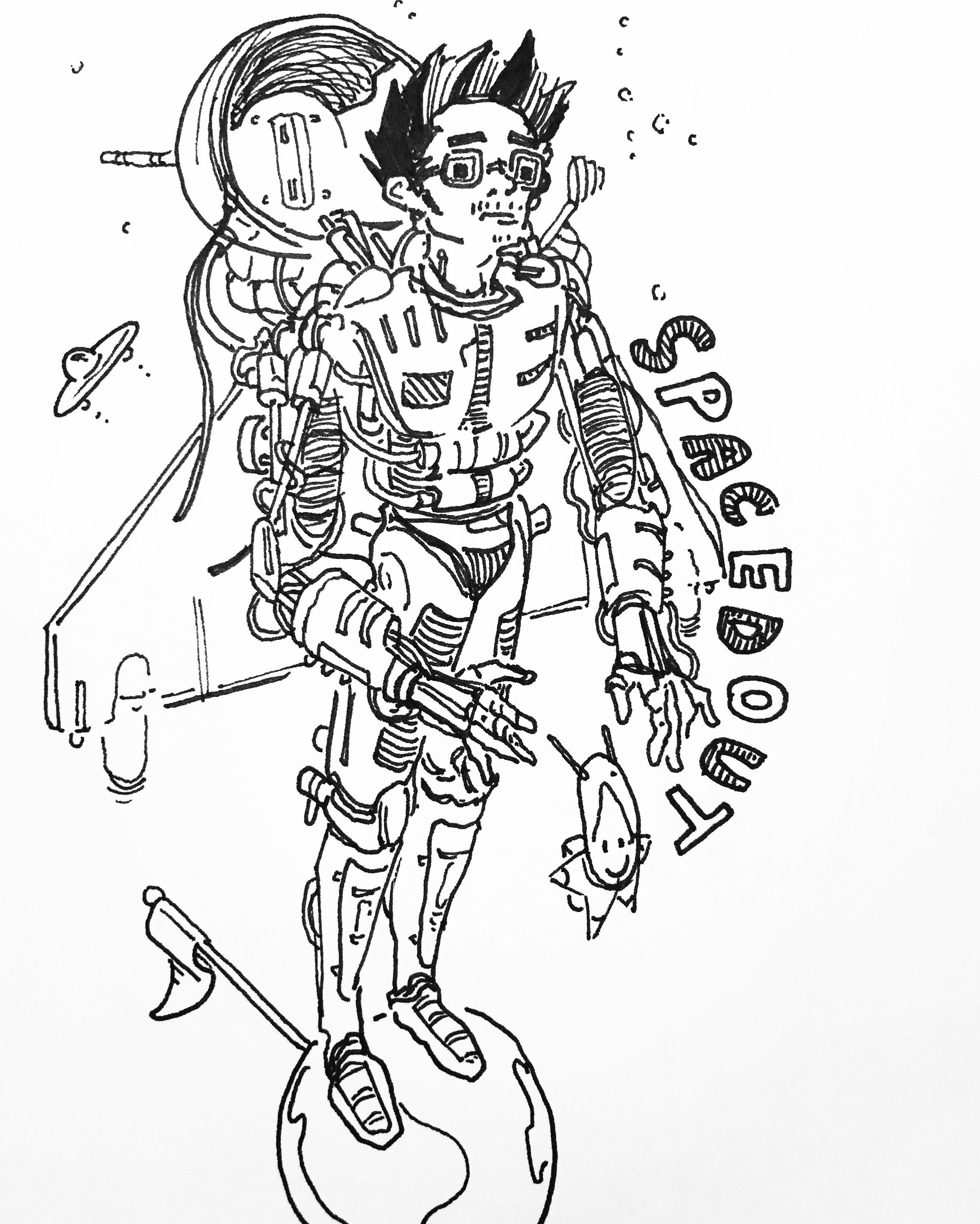 2655x3318 Doodling With My New Pen. (I.redd.it) Submitted By