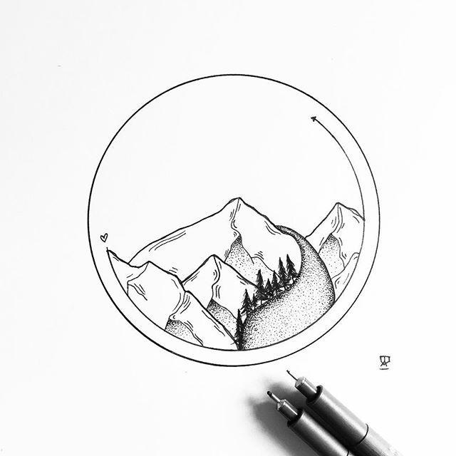 640x640 P I N T E R E S T @ohwahl Artistic Sketch Drawing
