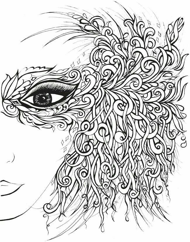 650x828 87 Best Rostros Images On Coloring Books, Colouring