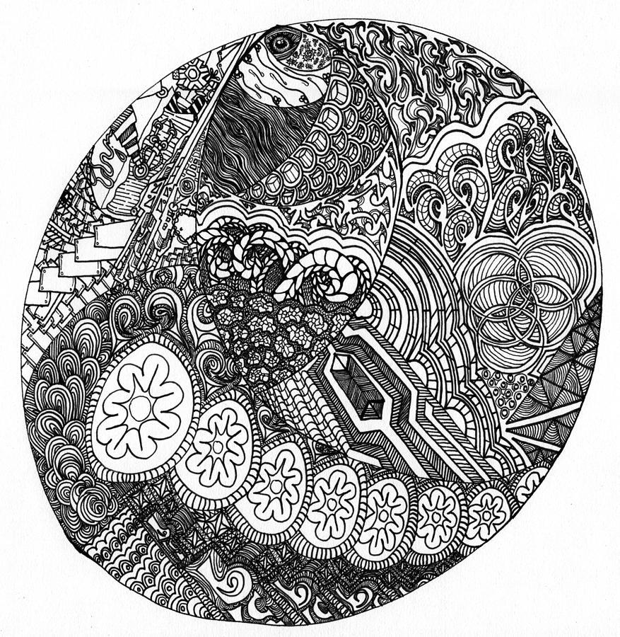 877x900 Third Eye Drawings