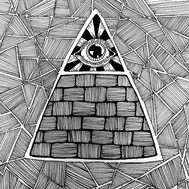 640x640 Eyeball Drawing Doodle On Instagram