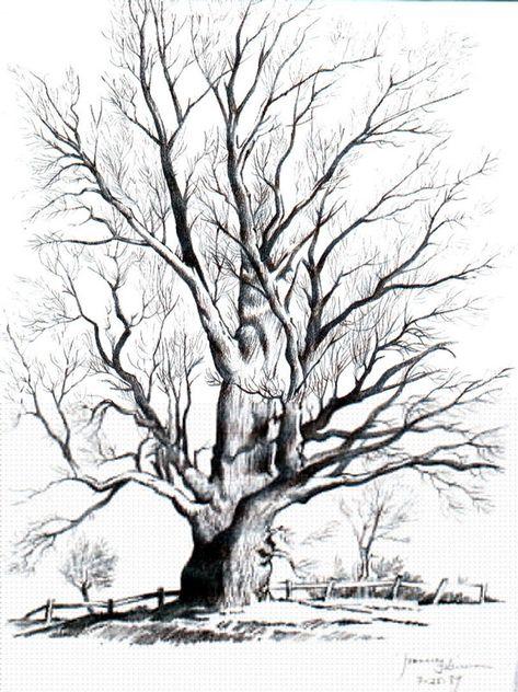 473x632 Landscape Drawing, Landscape Print, Abstract Landscape, Pencil