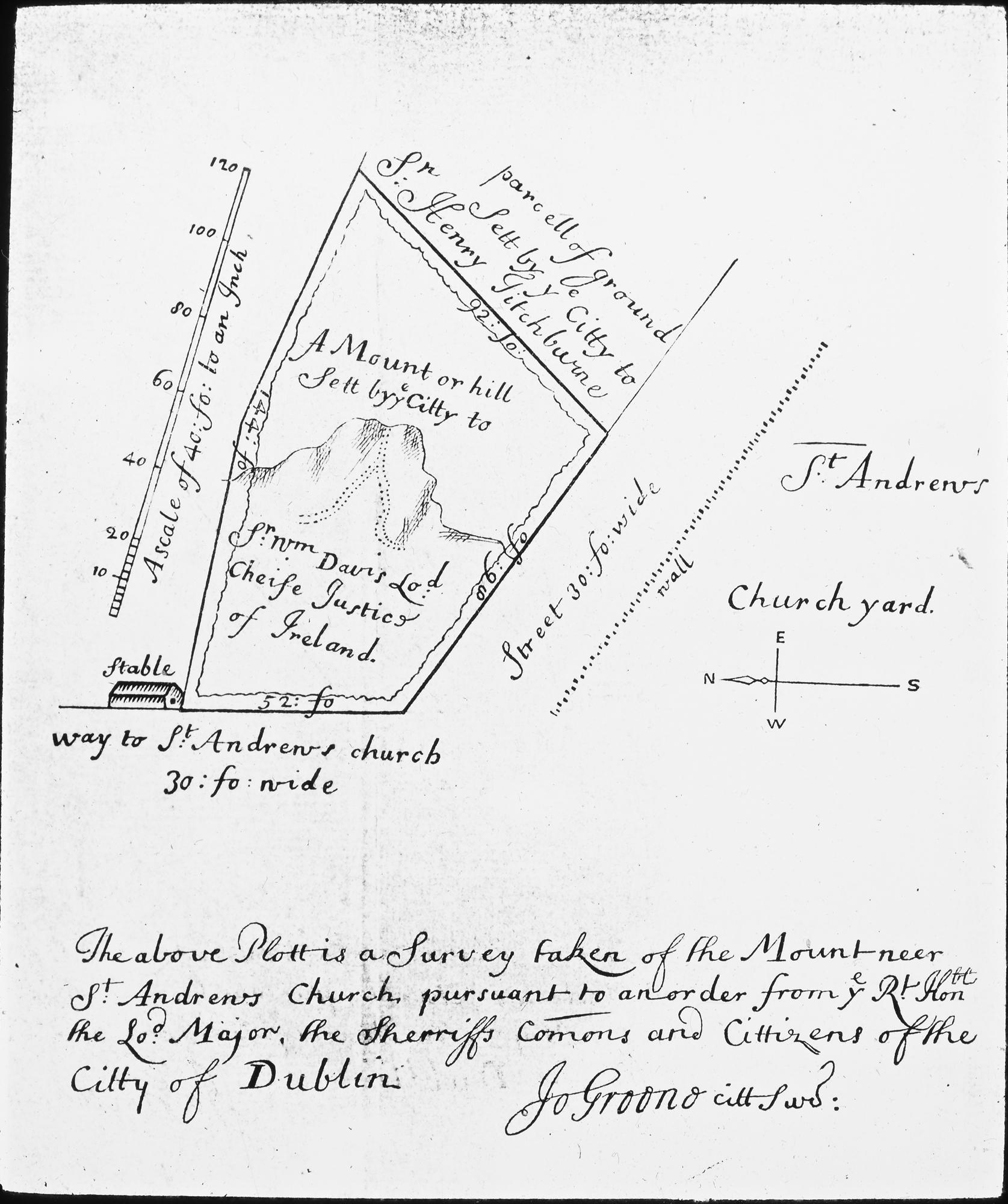 1675x2000 Filedublin Hand Drawn Survey, St. Andrew's Church (25419849663