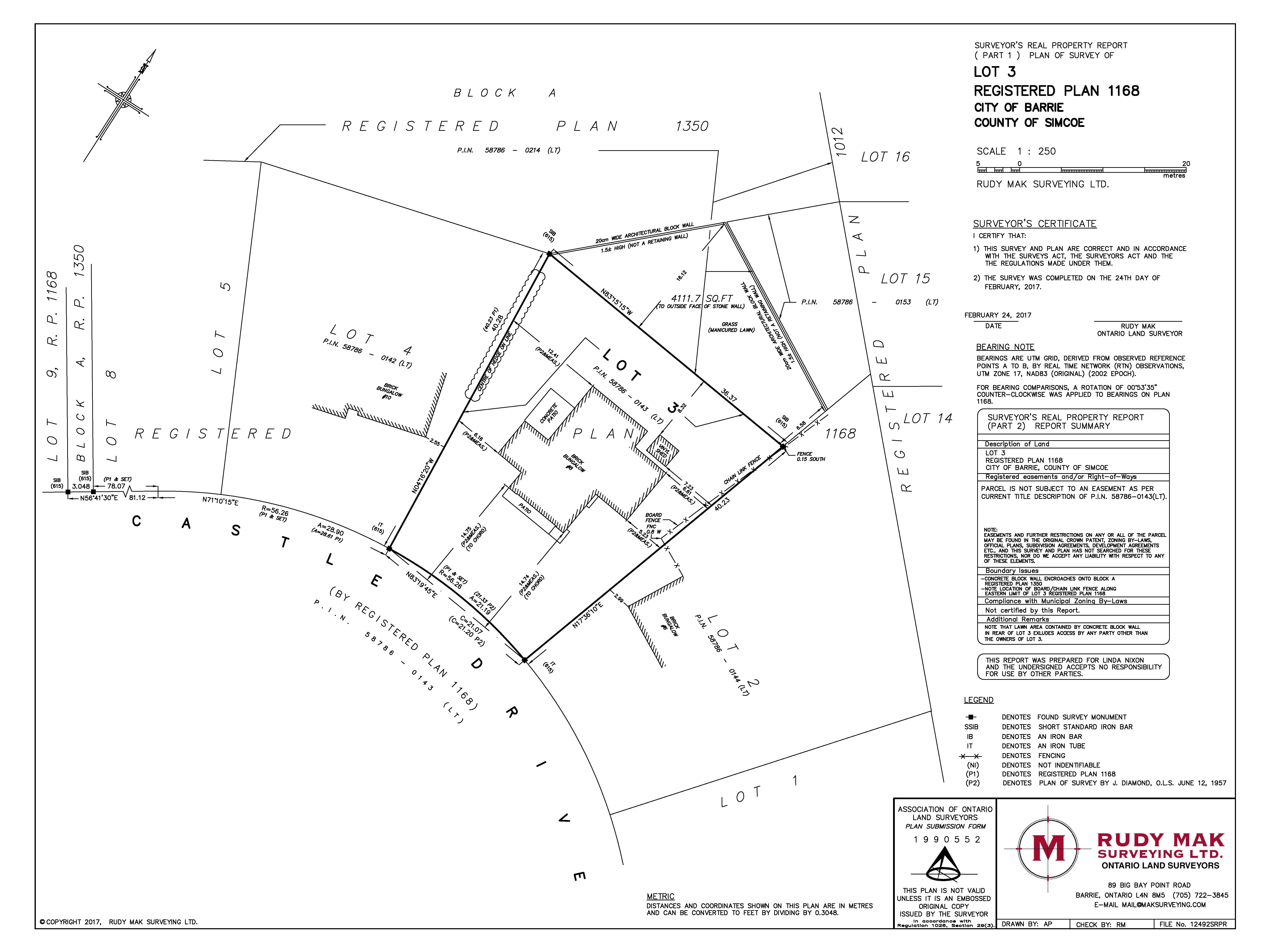 7200x5400 Rudy Mak Surveying Ltd. Legal Surveys