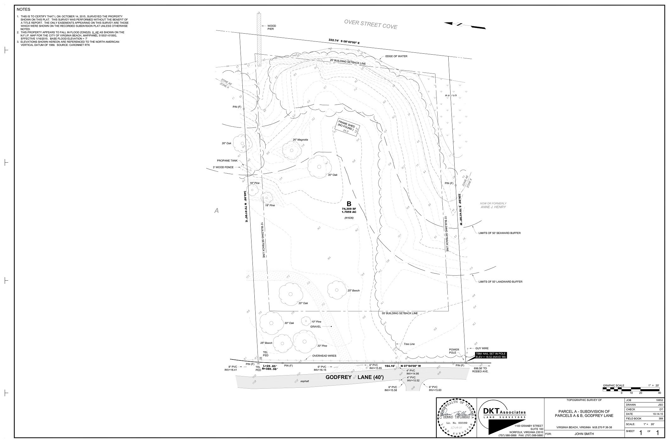 2131x1411 Dkt Associates Topographic Survey