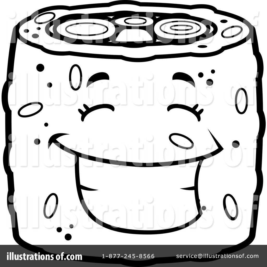1024x1024 Sushi Roll Clipart