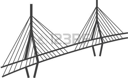 450x277 Illustration Of Brooklyn Bridge, New York Royalty Free Cliparts
