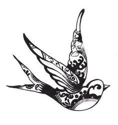 236x249 24 Best Swallow Henna Tattoos Images On Diy, All