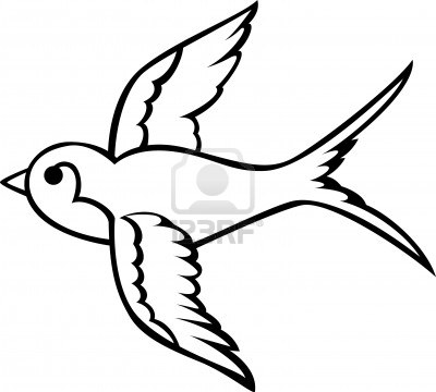 400x360 Birds Tattoos For You Free Pictures Of Sparrow Bird Tattoos