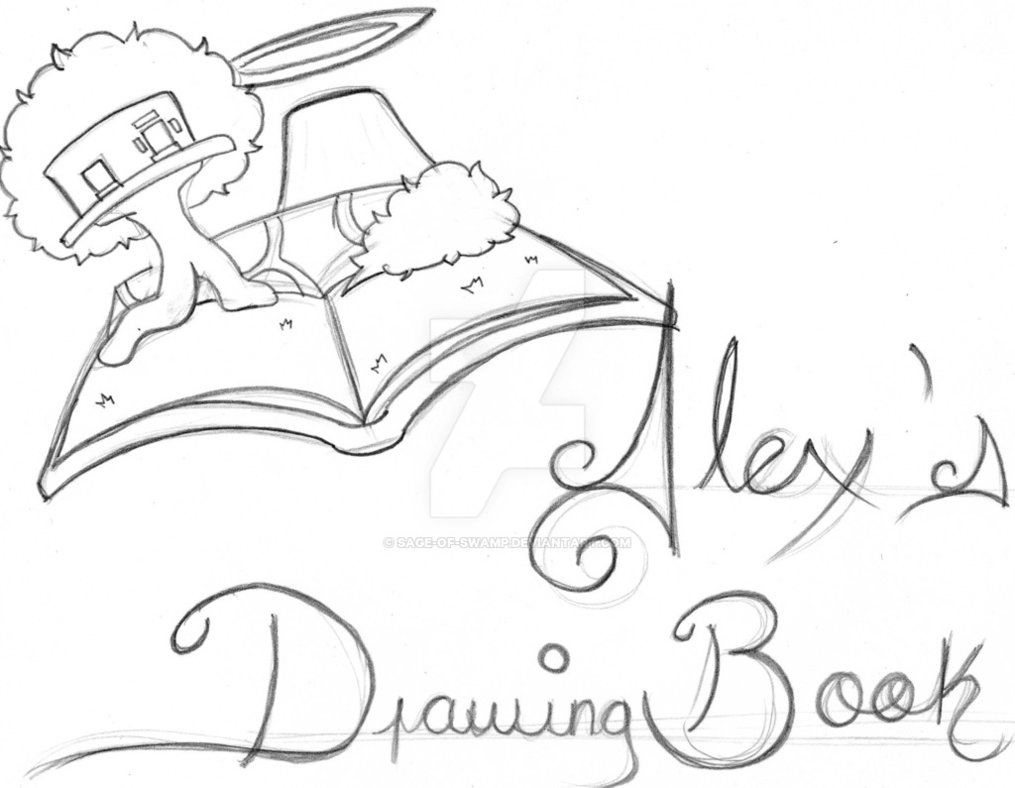 1015x788 Alex's Drawing Book By Sage Of Swamp