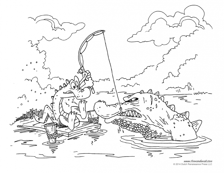 728x563 Swamp Coloring Page With Wallpapers