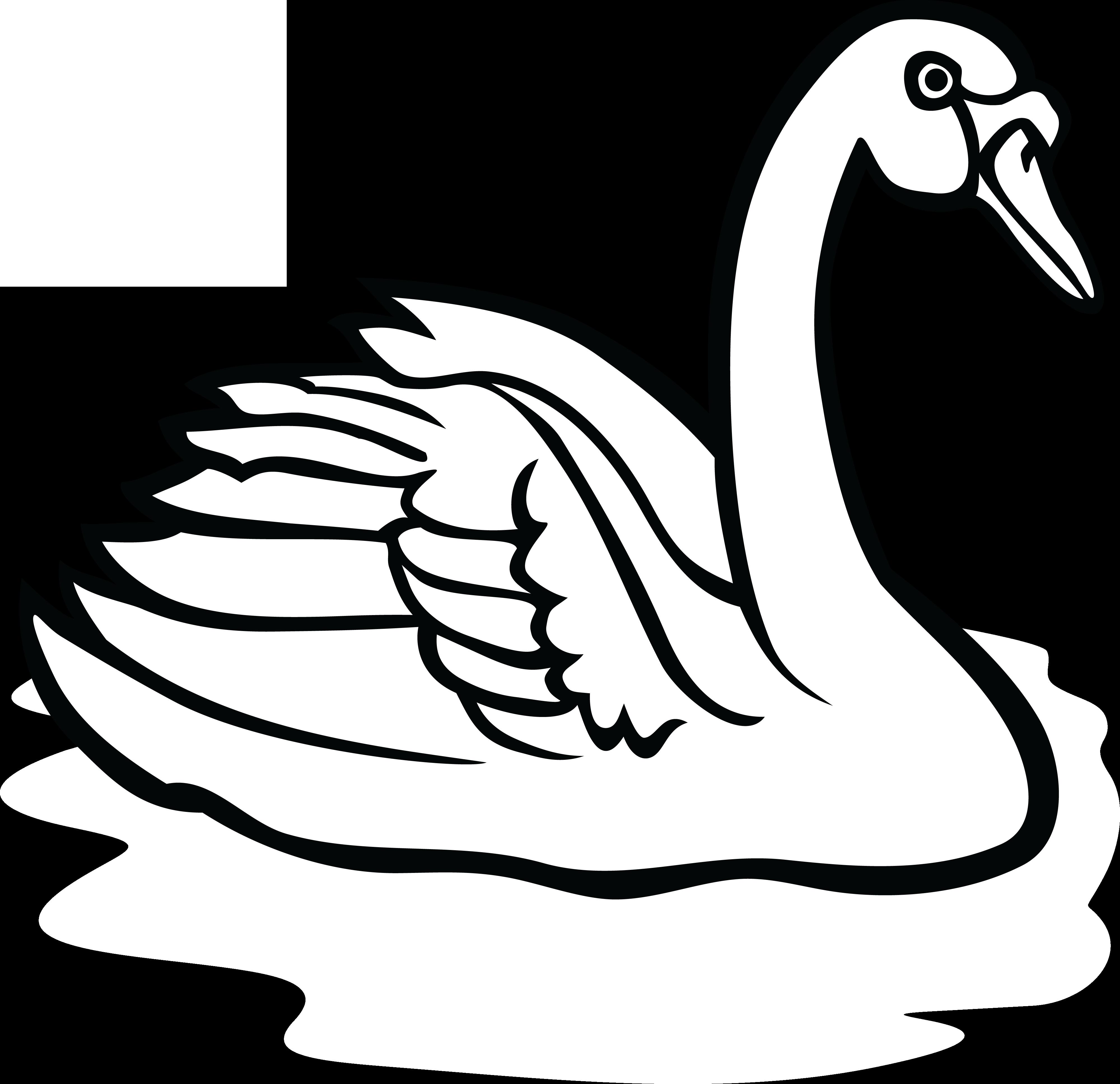 swan line drawing at getdrawings com free for personal use swan rh getdrawings com swan images clip art swan clipart free download