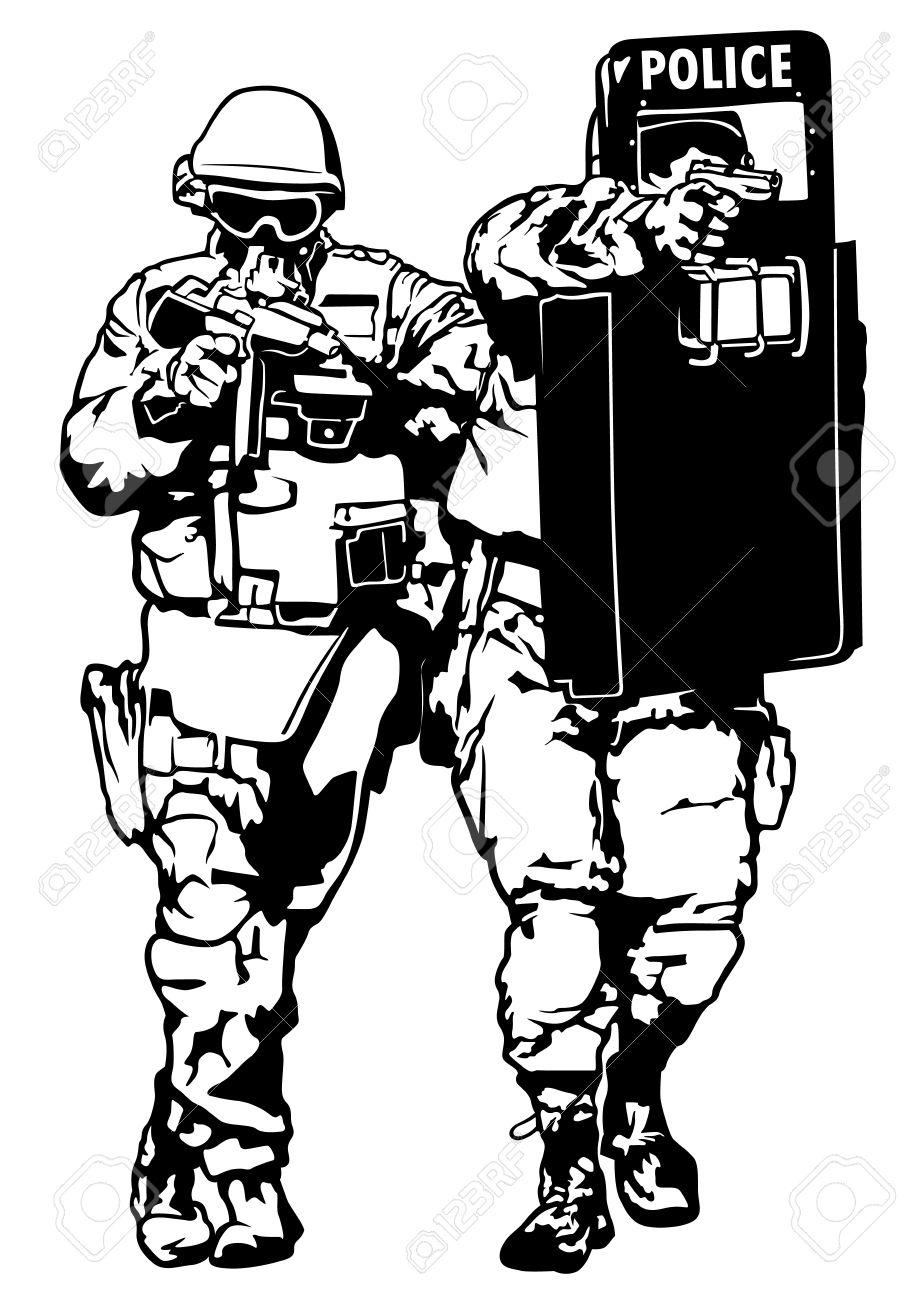 Swat Drawing