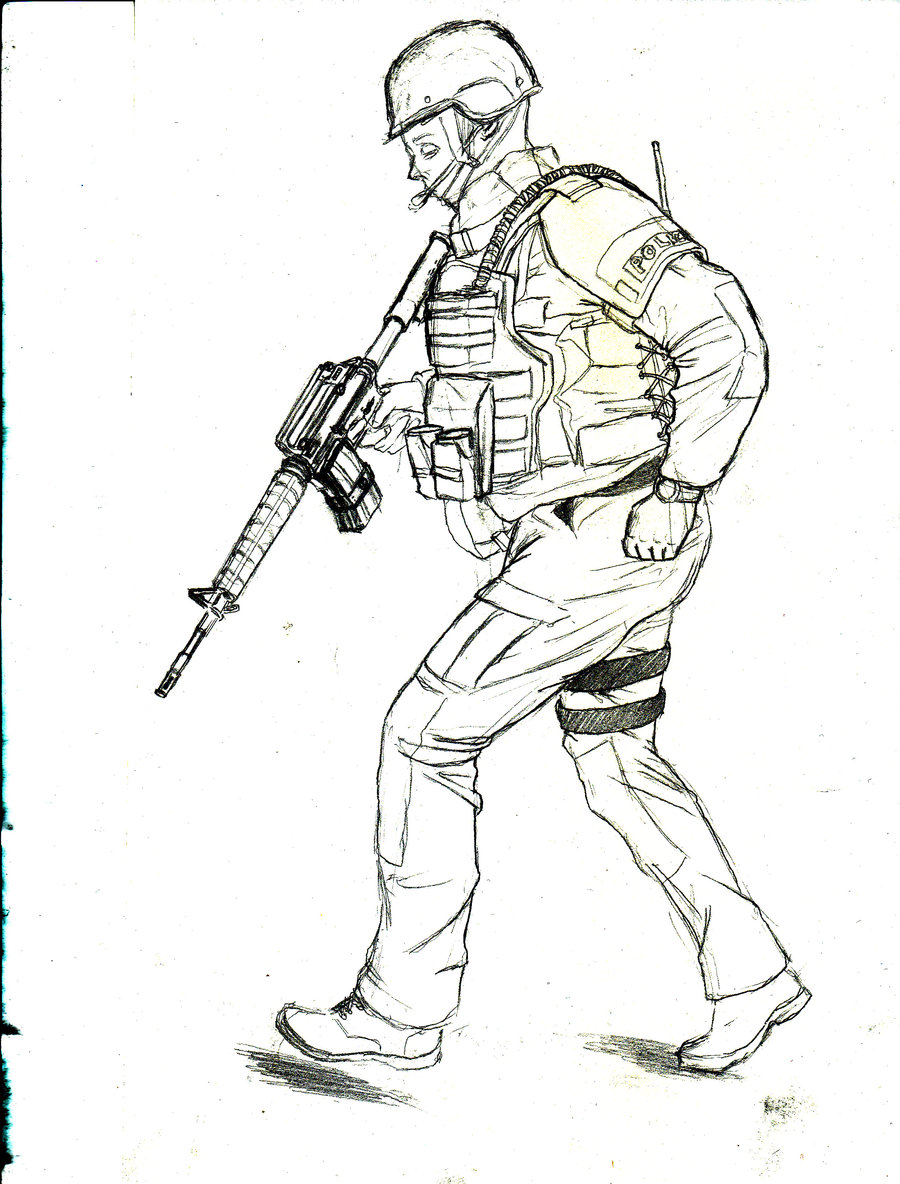 900x1184 Swat Guy By Tales911
