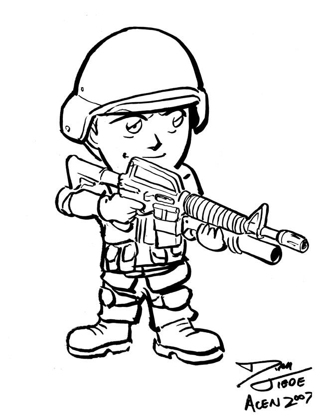 640x843 Con Sketch Chibi Swat By Dirktiede