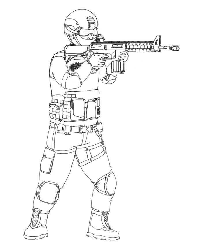 Swat Drawing At Getdrawings Com Free For Personal Use